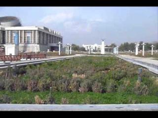 Душанбе-центр.Дворцовая зона.Ноябрь 2011г.avi