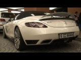 Brabus SLS Roadster - Mall of the Emirates