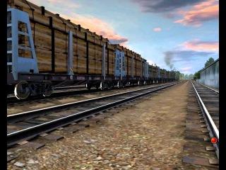 2тэ116 С лесом (Trainz 2010)