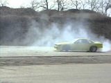 Yellow drift car. Odessa 6km #1