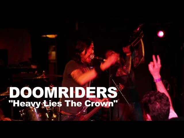 Doomriders, Heavy Lies the Crown live at the Middle East (2010)