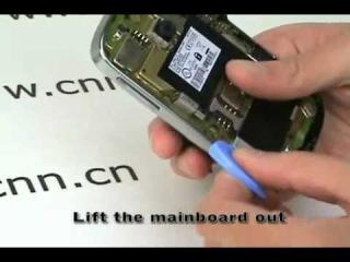 Как разобрать телефон Blackberry Bold 9000