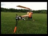 Kyle Stacy flying his Orange SAB Goblin 700 with his Futaba 18MZ