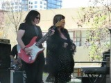 Laura Chavez and Candye Kane 2009 Fountain Blues Festival