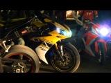 Такие мотоциклы - моя мечта! ~Речной вокзал ~Kiev /14.04.2012/