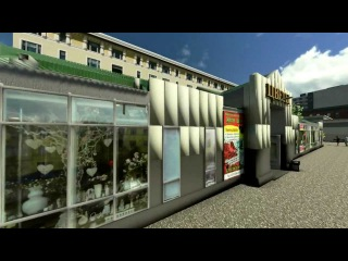 Visualization of flower shop model with Lumion 3D