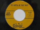 Dave Dudley - It's Gotta Be That Way (1960 guitar rocker)
