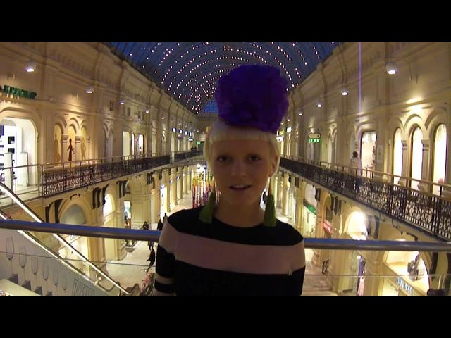 Eva Vostroknutova : the invitation to the show by Liudmila Norsoyan