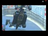 Conor Daly big crash in Monaco GP3 Race 2