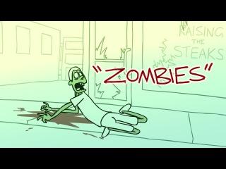 Zombies - очень интересный мультик))