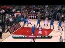 Amir Johnson's MONSTER dunk on Serge Ibaka! (HD)