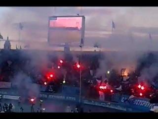 Зенит- ЦСКА, 14.04.2012, гол Быстрова, атмосфера на стадионе