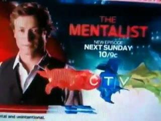 The Mentalist 5x02 'Devils cherry' CTV Promo