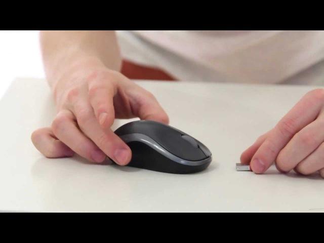 Мышка Logitech Wireless Mouse M185 USB Black