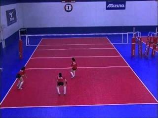 Перемещение в волейболе [sport-lessons.com]