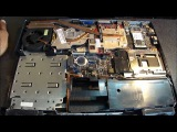 Dell Inspiron 6400, E1505, 1501 Disassembly Part 1