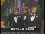 Brian Wilson, Carl Wilson Denis Wilson Beach Boys as a presenter 19th 1976 Grammy Awards . Best New artist nomination