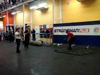Открытие центра подготовки спортсменов Strong man №2