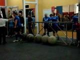 Открытие центра подготовки спортсменов Strong man №7