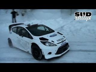 Essais Ford Fiesta WRC - Rallye Monte Carlo 2013 [HD]