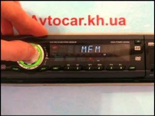 Видеообзор автомагнитолы Prology DVD-2035UR avtocar.kh.ua