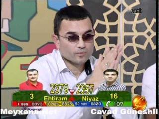 Sozumuz Sozdur 2011 - Ehtiram Sumqayitli vs Niyaz Qaradagli - Sennen eser men ne diyim