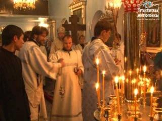 В Покровскую родительскую субботу правящий архиерей совершил заупокойные богослужения