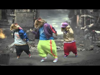 LMFAO Party Rock Anthem Kia Soul Hamster Commercial HD  Everyday Im Shuffling   MTV VMAs