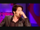 Stephen Moyer talking like a 14 year old girl