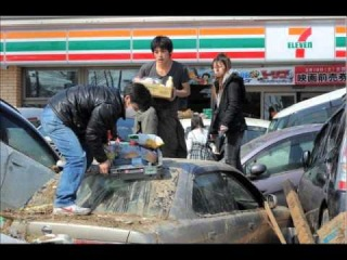 EARTH QUAKE AND TSUNAMI IN JAPAN , A SAD SONG FOR THE PEOPLE OF JAPAN.wmv