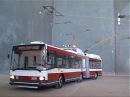 Trolleybus model / Model trolejbusu Škoda 22Tr