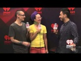 Video interview with Mike and Chester  2012 iHeartRadio Music Festival!