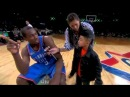 (NBA All Star 2011)- Serge Ibaka Saves Little Kid's Teddy Bear *Teddy bear Dunk*