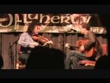 John Doyle and Martin Hayes at the O'Flaherty Irish Music Retreat