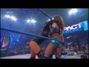 TNA Impact 1/3/13 Gail Kim & Tara vs Mickie James & Brooke Tessmacher w/Jesse