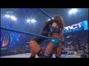 TNA Impact 1/3/13 Gail Kim & Tara vs Mickie James & Brooke Tessmacher w/Jesse