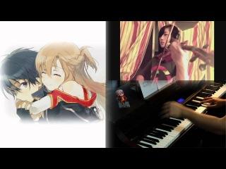 Sword Art Online ED2: Overfly (viola + piano) ft. TehIshter