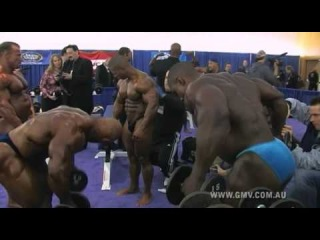 Men of Muscle # 8 - IFBB Pro Men's Pump Room DVD