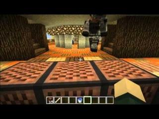 Красивые дома в майнкрафт (MineCraft 1.3.2) Часть 1 Круглый дом