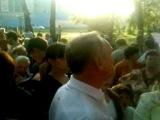 Сход жителей в Балашихе против застройки часть 1