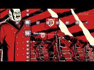 Новое XBM-меню для PS3 в стиле Killzone 3