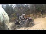 Квадроцикл Stels 500H, опять в болоте!
