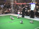 Robocup Final 2005 Part 1 (Sony Aibo dogs)