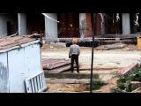 Строительство дома. Погрузка арматуры. 01.09.2012