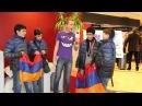 Meeting Armenia - ESCKAZ live in Amsterdam: Compass Band (Armenia) arrival (Junior Eurovision 2012)