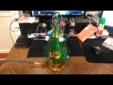 USB елка из бутылок (хэндмэйд)