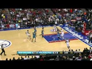 New Orleans Hornets Vs Philadelphia 76ers Highlights