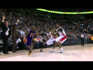 Kobe Bryant hits the game-winner: Lakers vs. Raptors