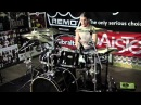 Pearl Vision VML 7pc Piano Black Drum Demo with Stephen Whitesides
