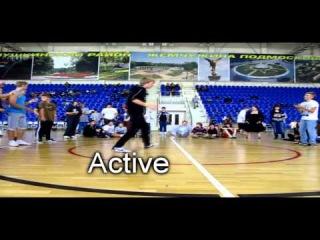 [WJT Feat.Division 1/8] Active & HanK [Fucking Loosers] vs Cruzial & Snak'e [LMFAO]